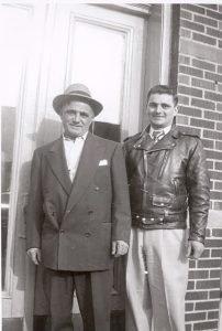 Grandpa Mattera and Uncle Johnny